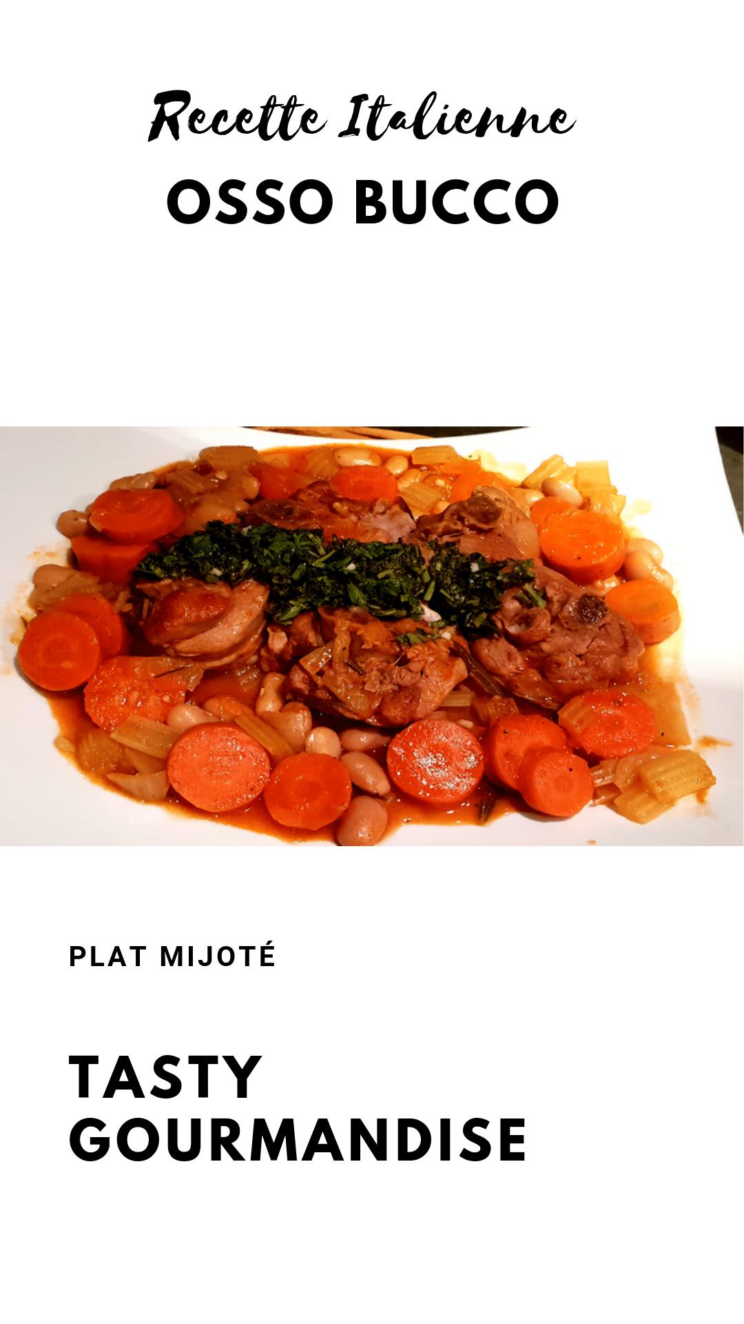 Voici une nouvelle recette d\'Osso buco italienne, traditionnellement connu comme un plat mijoté de jarrets de veau et un mélange de légumes, parfumé d\'un delicieuse marmelade à l\'italienne !